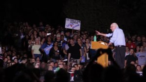 bernie sander speaking in tucson