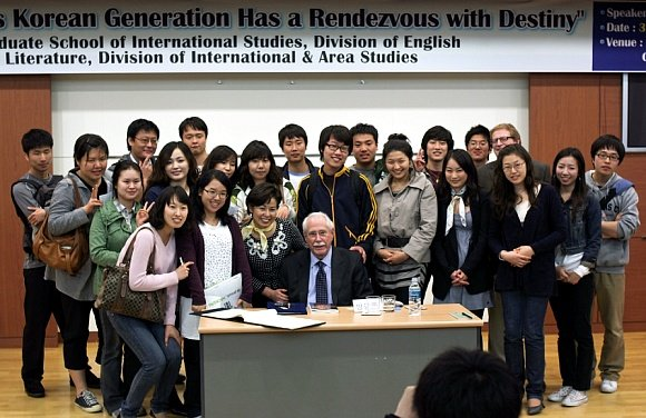 This Korean Generation Has a Rendezvous with Destiny June 13th, 2009 by Robert Cottone