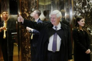 gingrich giving thumbs up